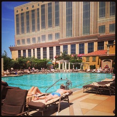 Photo taken at The Venetian Pool by Kentralle G. on 4/24/2013