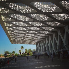 Photo taken at Aéroport de Marrakech Ménara | مطار مراكش المنارة‎  (RAK) by Vito S. on 7/25/2013