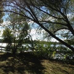 Photo taken at Lake Nokomis Fishing Dock by SemiToxic on 9/20/2012