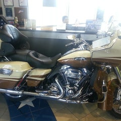 Photo taken at Old Glory Harley-Davidson by Jb B. on 2/26/2014