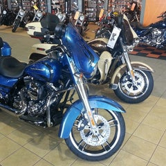 Photo taken at Old Glory Harley-Davidson by Jb B. on 4/12/2014