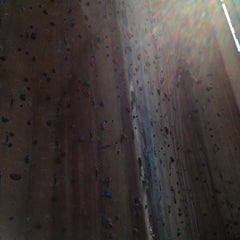 Photo taken at Hardrock Indoor Rock Climbing by Claire on 3/9/2013