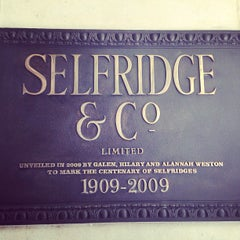 Photo taken at Selfridges & Co by Mohamed B. on 4/12/2013