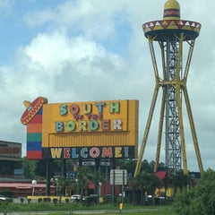 Photo taken at South of the Border by Peter D. on 7/3/2013