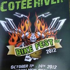 Photo taken at Cotee River Bikefest by Gigi D. W. on 10/13/2012