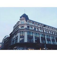 Photo taken at Rue Saint-Sauveur by Tasha on 4/20/2014