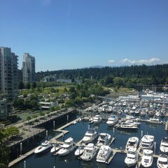 Photo taken at The Westin Bayshore, Vancouver by Christina C. on 7/10/2013