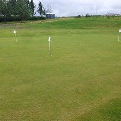 Photo taken at Golfklúbbur Kópavogs og Garðabæjar (GKG) by Sigmundur Einar M. on 7/23/2014