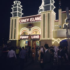 Photo taken at Luna Park by James M. on 11/28/2012