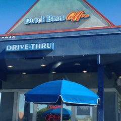 Photo taken at Dutch Bros. Coffee by Steve P. on 4/28/2015