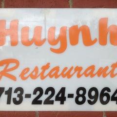 Photo taken at Huynh Restaurant by ArtJonak on 3/9/2013