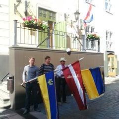 Photo taken at Royal Netherlands Embassy by Viktorija G. on 7/18/2014