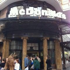 Photo taken at McDonald's by Ksusha T. on 10/14/2012