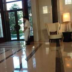 Photo taken at Siam Kempinski Hotel Bangkok by Lil'mannie L. on 10/20/2012