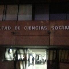 Photo taken at Universidad de Chile - Facultad de Ciencias Sociales by Jeremy Y. on 5/23/2013