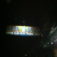 Photo taken at Pusat Oleh - Oleh Solo Mesran by Desi P. on 2/12/2013