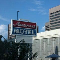 Photo taken at Americana Hotel by Matthew R. on 6/25/2013