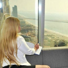 Photo taken at Al Habtoor Business Tower by Anaita B. on 4/14/2014