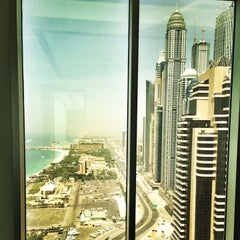 Photo taken at Al Habtoor Business Tower by Anaita B. on 4/15/2014
