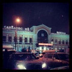 Photo taken at Савеловский вокзал / Savyolovsky Rail Terminal by Mike S. on 1/6/2013