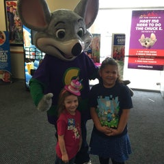 Photo taken at Chuck E. Cheese's by Gina L. on 3/16/2015