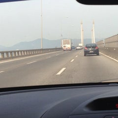 Photo taken at Penang Bridge Touch 'n Go Sales Centre by Jojo C. on 2/8/2014