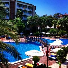 Photo taken at Alara Park & Residence Hotel by Hande D. on 8/26/2013