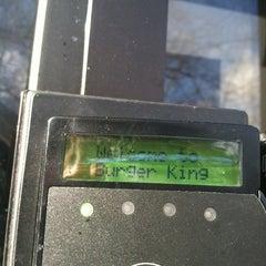 Photo taken at Burger King by Matt N. on 12/30/2012