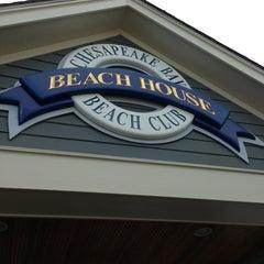 Photo taken at Chesapeake Bay Beach Club by Mariel L. on 7/13/2013