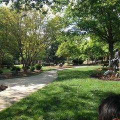 Photo taken at Greensboro Bicentennial Gardens by Sarah H. on 5/7/2013
