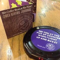 Photo taken at The Coffee Bean & Tea Leaf by Jojo G. on 11/30/2012