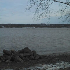 Photo taken at Esopus Lighthouse Park by Katie M. on 1/1/2013