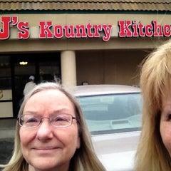 Photo taken at BJ's Kountry Kitchen by Junie K. on 10/11/2012
