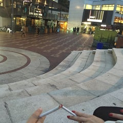 Photo taken at The Piazza by Irina M. on 10/30/2015