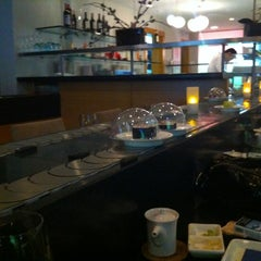 Photo taken at Hai Sushi Kalamış by Baris N. on 10/25/2012