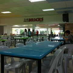 Photo taken at The Red Bricks Cafeteria (formerly Canteen 1) by Chloe C. on 12/3/2012