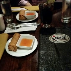Photo taken at 28 Fusion Sushi/Chef 28 by Steven M. on 11/13/2015
