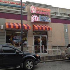Photo taken at Dunkin' Donuts by John P. on 1/1/2013