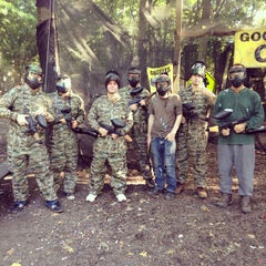 Photo taken at Cousins Paintball Staten Island by Michael S. on 8/24/2013
