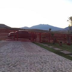 Photo taken at Club Hipico Santa Sofia by Charles F. on 12/31/2014