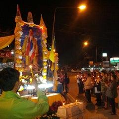 Photo taken at ตลาดทุ่งสมอ by Sharkrit I. on 12/5/2013