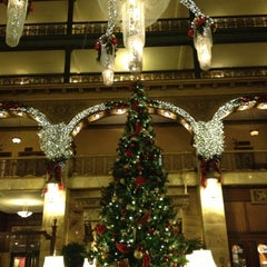 Photo taken at The Brown Palace Hotel and Spa, Autograph Collection by Megan P. on 12/7/2012
