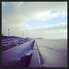 Photo taken at Ocean Beach by Max M. on 3/9/2013