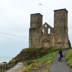 Photo taken at Reculver Towers and Roman Fort by rsmike ☯. on 7/6/2014
