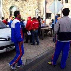 Photo taken at Universidad La Salle Pachuca Campus La Luz by Antonio H. on 10/27/2013