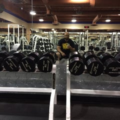 Photo taken at 24 Hour Fitness by Jerry B. on 6/12/2014