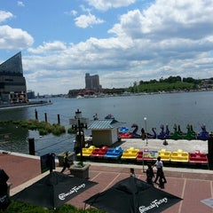 Photo taken at Inner Harbor by Julia R. on 5/13/2013