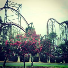 Photo taken at Six Flags Magic Mountain by Chris S. on 7/21/2013