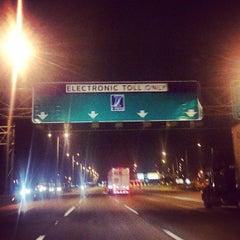 Photo taken at Ronald Reagan Memorial Highway by Richard F. on 10/9/2014
