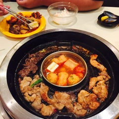 Photo taken at Seoul Garden by Natasha E. on 8/9/2015